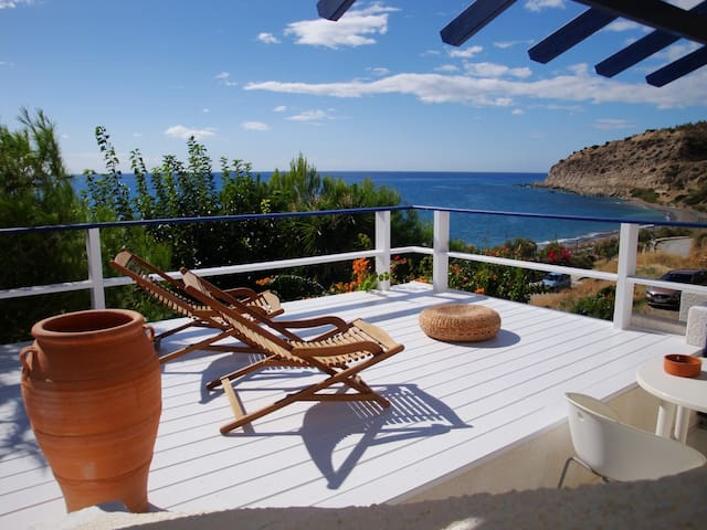 Big Blue Apartment / Sea - Myrtos - Huoneisto