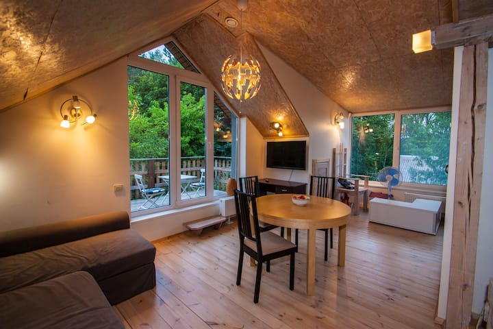 Perfect COVID19 shelter - Chalet near lake+forest