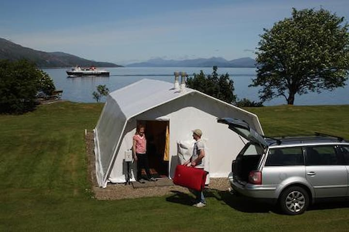 Spacious and comfortable, home from home camping.