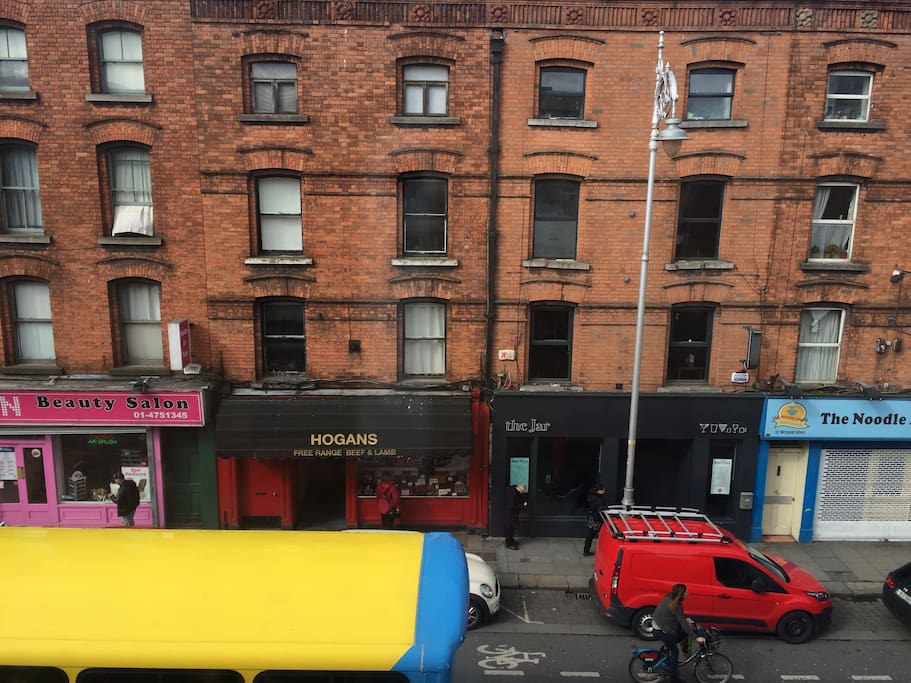 The view of Wexford/ Camden Street