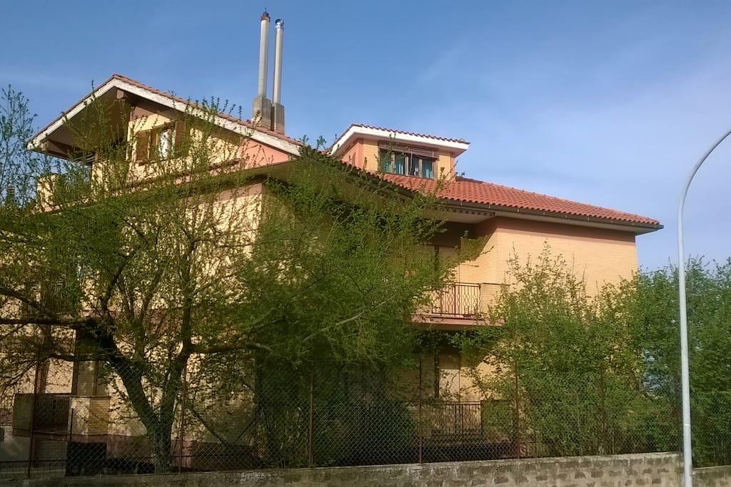 Casa Gaia lato sud/ovest