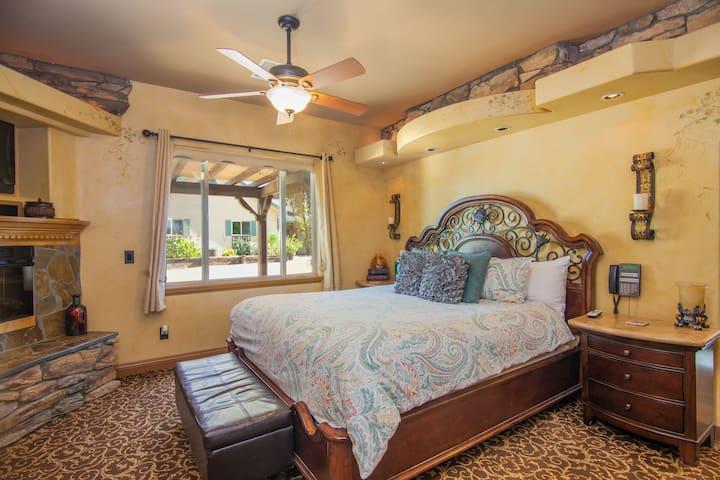 Wine Country Honeymoon BriarRose Villa Hotel Suite