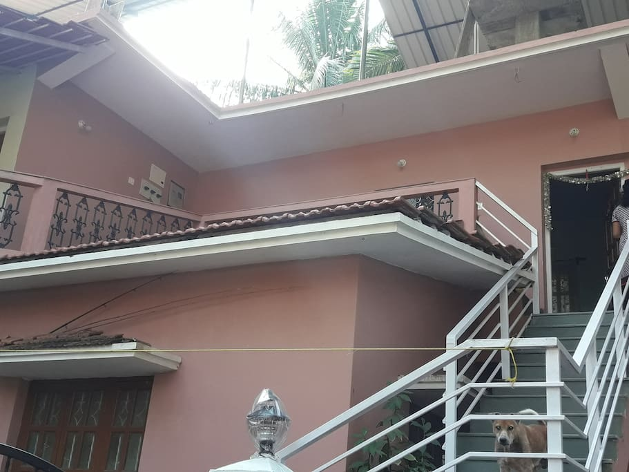 STAIRCASE TOWARDS ROOM