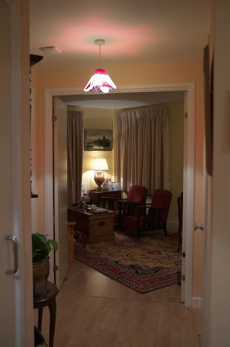 Spacious and welcoming hallway