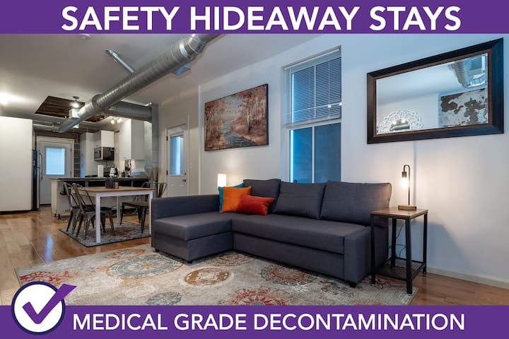 Safety Hideaway - Medical Grade Clean Home 55