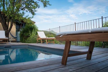 Appartement vue panoramique avec jacuzzi & sauna