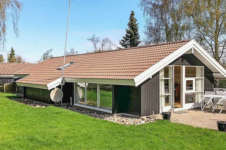 Spacious Holiday Home in Gilleleje Denmark with Terrace