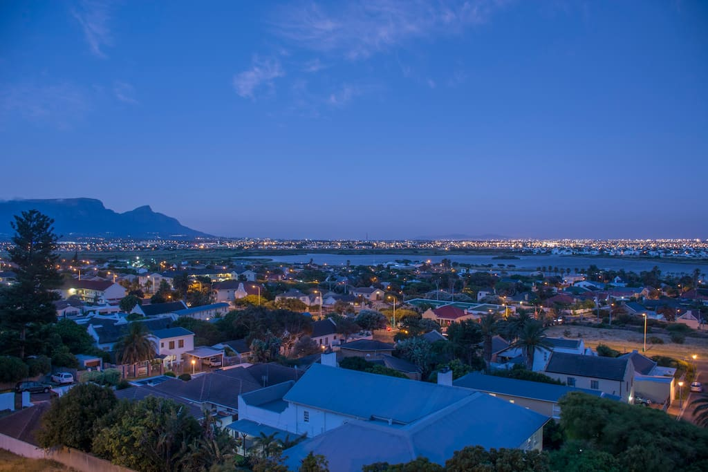 Enjoy 360 degree views of False Bay from the deck.