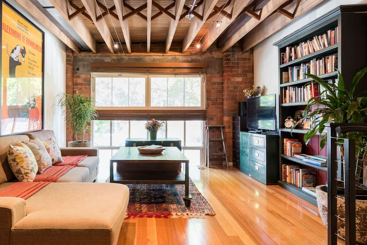 Fascinating Converted Chocolate Factory in Fitzroy