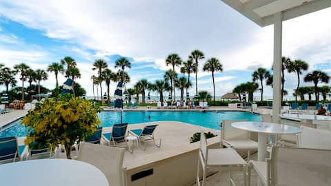 Beachfront condo at prestigious Longboat Key Club resort
