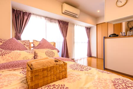 5min from station・East Umeda・4ppl・Free Wifi - Apartment