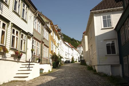 "Nice apartment in city center, behind ""Bryggen"" - Bergen"