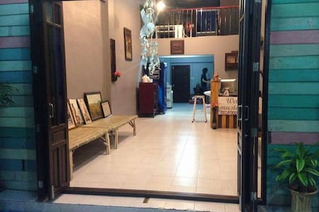 muster House 1Bed in 4-Bed Dormitory 250THB Person - Phra Nakhon Si Ayutthaya - 旅舍