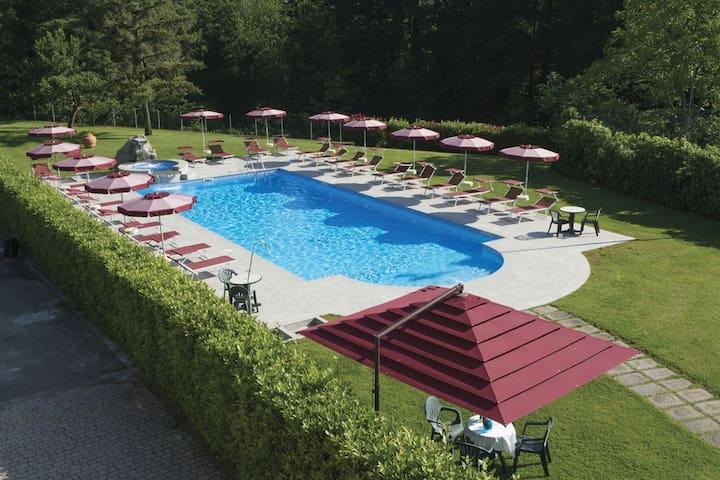 Camera Tripla Park Hotel La Pineta