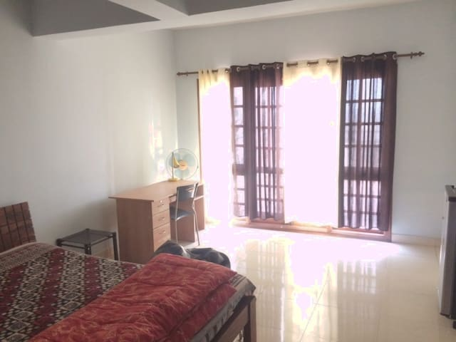 Spacious single room with terrace