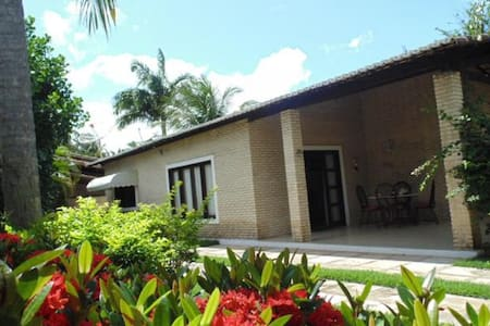 Charming house with lovely garden - Tibau do Sul