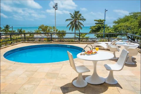 FLAT BEIRA MAR SEA VIEW GOLDEN FORTALEZA
