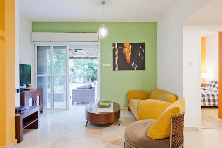 apartments בידוד בהנאה בדירת נופש מפנקת
