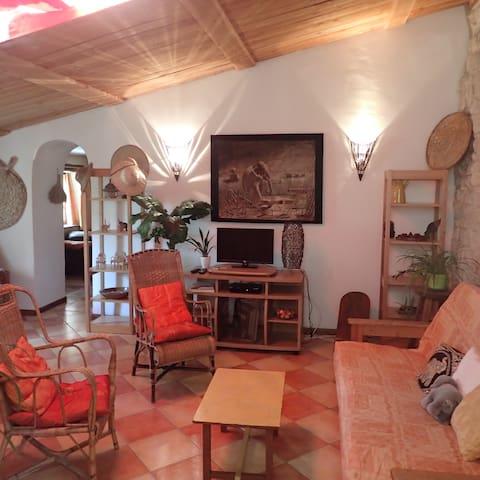 Gîte aux couleurs tropicales - Forcalquier - Apartment