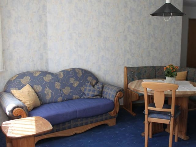 Ferienwohnungen Kuhlmann, (Lennestadt), Ferienwohnung 2 Bergblick, 50qm, 2 Schlafzimmer,  3 Personen
