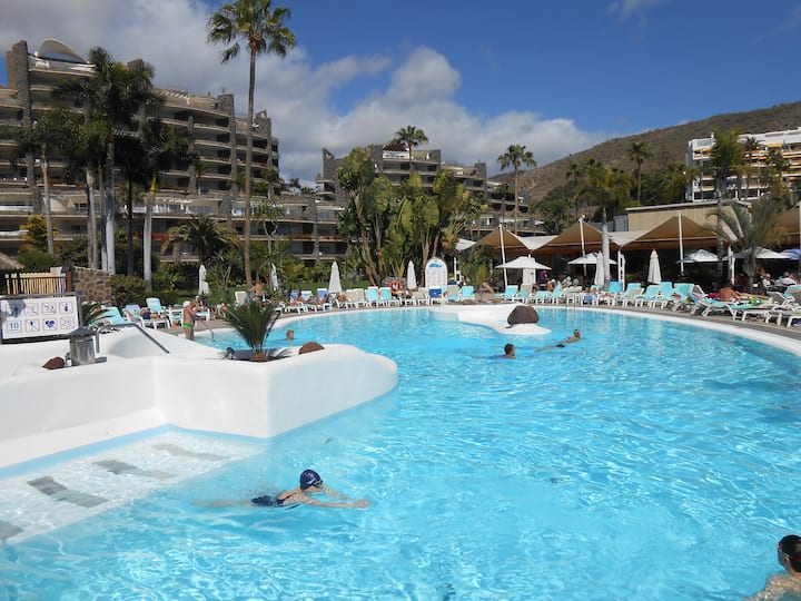 Luxury apartment in Anfi Beach Club, Gran Canaria