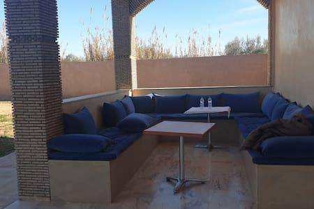 Chambre 1 villa Kasba Lakbira