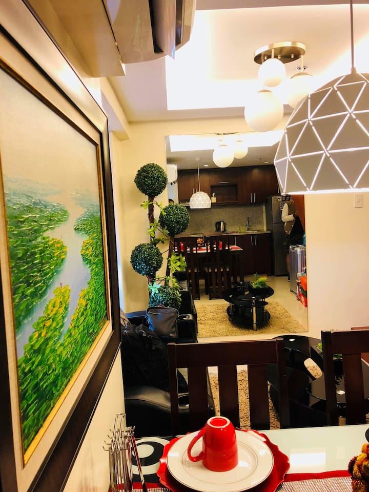 2 bedroom loft unit along timog Quezon City
