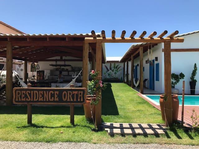 Apartamento com piscina - Praia de Guartiba