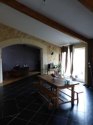 Belle maison en pierre - Podensac - Rumah