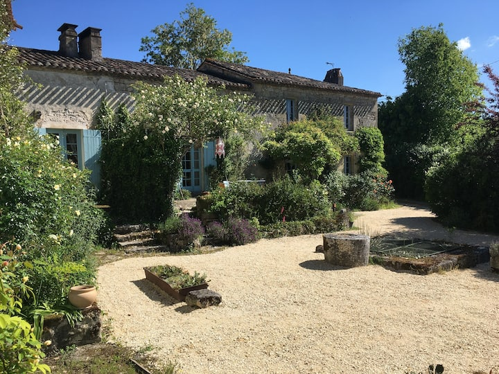 18th Century French Farm House with 2 Pools