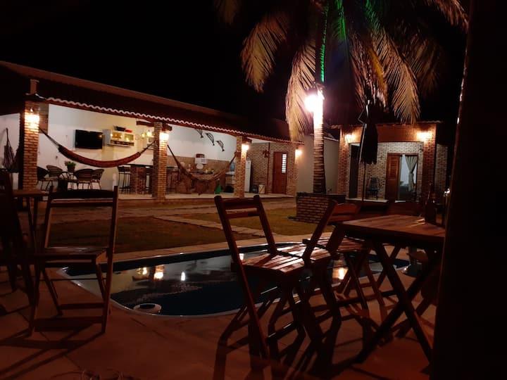 Casa de Praia,  prox. Flecheiras,  Mundal  - CE