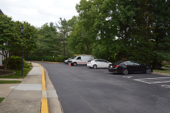 Parking? No problem , pick any available spots !