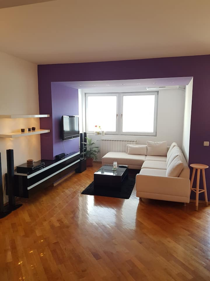 3 bed new apartament next to the Vodno mountain