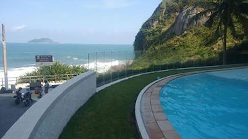 Apartamento de frente para o mar - Jardim Asturias - 公寓