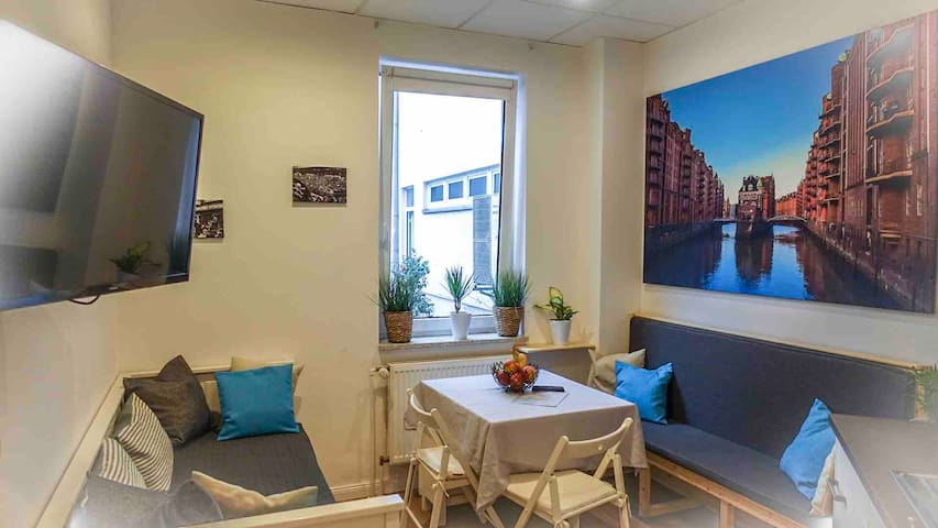 **CITY-APARTMENT** Reeperbahn*Harbour* (1-6 Pers)