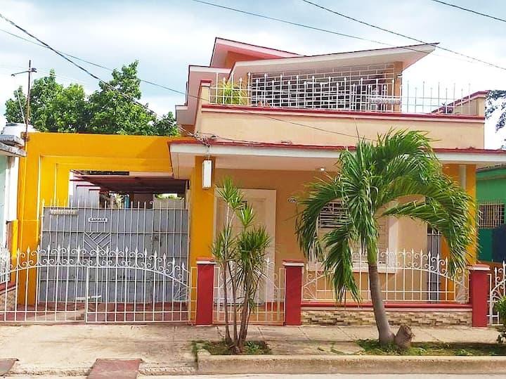 Hostal Billy's House, near Cayo Coco. Cuba.