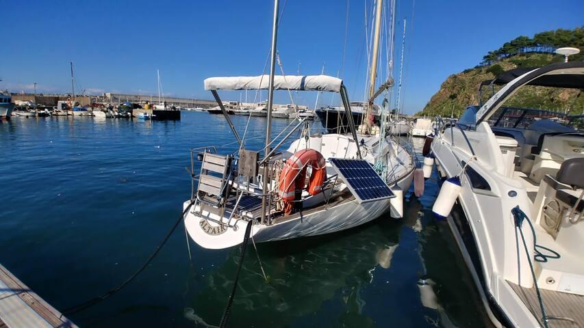 Alloggio in barca a vela