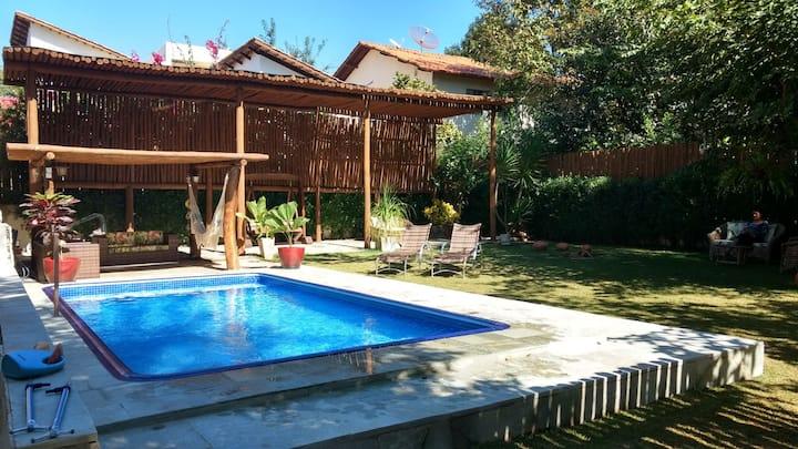 Casa OLIVA c/pisc. aquec.solar, privacidade.