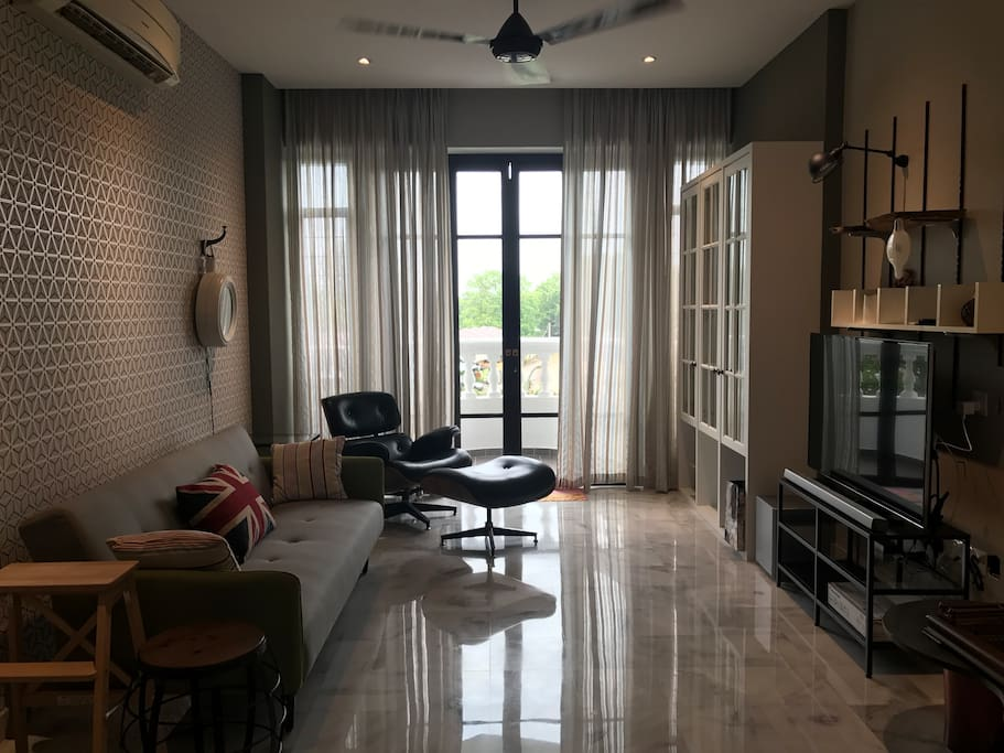 British style living room