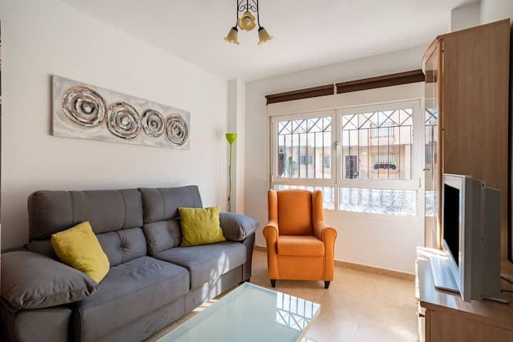 Lovely Apartment in Aguadulce near Playa da Ventilla