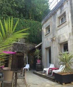 Maison Dans Anciennes Cuves à Vin - Saint-Avertin - 連棟房屋