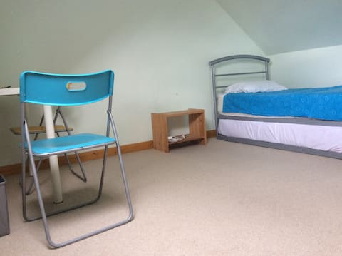 Single bedroom in East London in a friendly house.