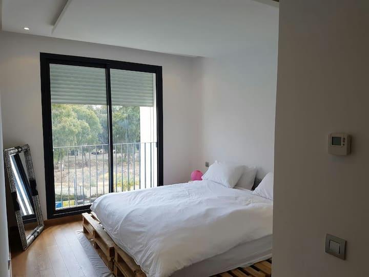 Appartement avec piscine et jacuzzi
