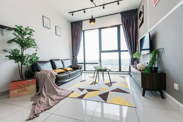 【Southkey Mosaic】2BR Midvalley JB town city A1608