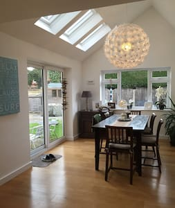 Contemporary living space - West Berkshire - Rumah