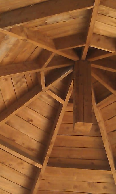 This is hw the inside roof look like
