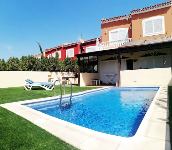 "Beachfront(100mt) ""Villa Marilu""with Private Pool"