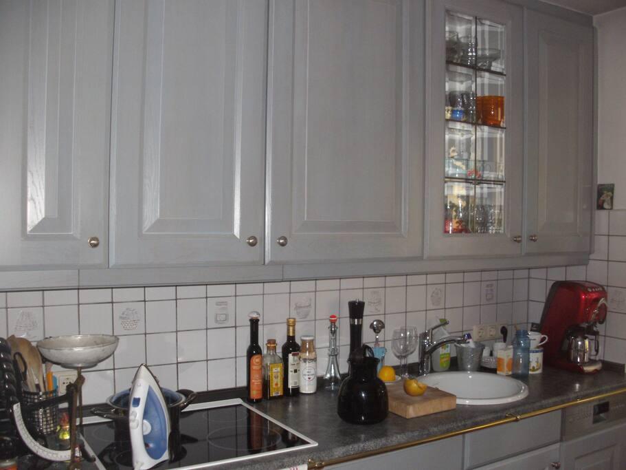 Küche, Kochzeile