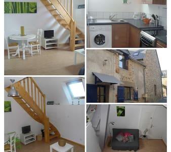 Duplex dans village de pêcheur  20 mn Mt St Michel - Le Vivier-sur-Mer - 公寓