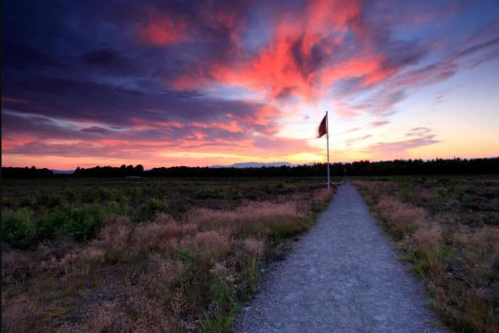 Autumnal Culloden Battlefield